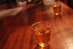 Första ankarwhiskyn ombord