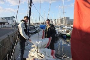 Kristoffer och Daniel tar tag i Genuan