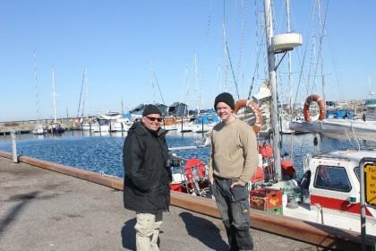 Harald och Daniel L i Helsingör