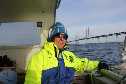 Daniel J efter Öresundsbron