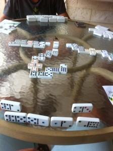 Domino på Crew Inn