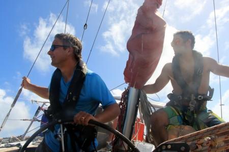 Jakob & Ricardo seglar