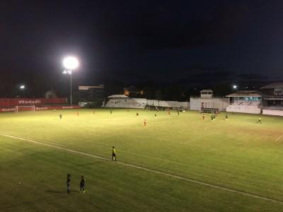 Fotbollsmatch i St Johns