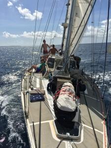 Segling mot Anguilla